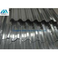 Quality Roof Tile Hot Dipped Galvanized Corrugated Metal Roofing Panels Water Resistant for sale