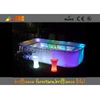 Buy cheap 16 colors Bar Furniture & bar table nightclub furniture with led lighting from Wholesalers
