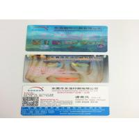 Quality OEM PP / PET 3D Lenticular Business Cards , 3D Printing Business Cards for sale