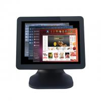 Quality 5 Wire Resistive Tablet Pos System For Restaurant , Point Of Sale Equipment With Card Reader for sale