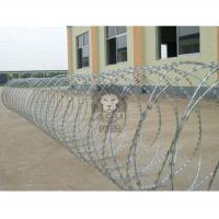 Buy cheap Anping Manufacturer Cross Concertina Razor Wire ,Construction , Decoration,Wire from wholesalers