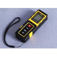 Quality Yellow Small Laser Distance Metre Accuracy 40m Handheld Laser Distance Measurer for sale