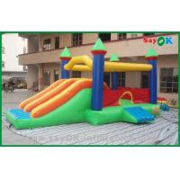 China Customized Inflatable Bouncer Slide For Fun , Inflatable Dry Slides on sale