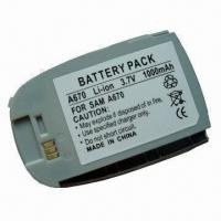 Quality Replacement Li-ion Cell Phone Battery for Samsung A670 for sale