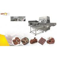 Quality Small Chocolate Bar Manufacturing Equipment / Chocolate Coating Machine for sale