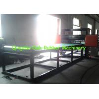 Quality PLC control rubber pipe cutting machine to cut 1 - 12 pipes per time for sale