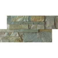 Buy 15*60cm split face natural slate for interior and exterior decoration at wholesale prices