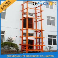 Quality 1000 kg Warehouse Cargo Hydraulic Lift Table with Anti Slip Safety Device for sale