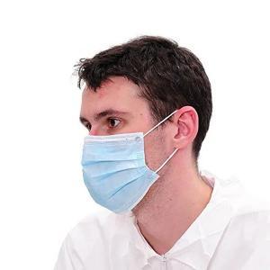 Quality Custom Medical Face Masks 2 Ply Earloop Procedure Masks Foldable Design for sale