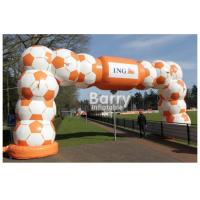 Buy cheap Durable Inflatable Advertising Products / Inflatable Entrance Arch Welcome Gate from wholesalers