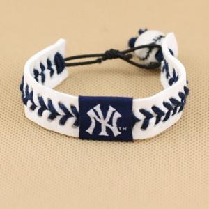 Quality MLB leather bracelet baseball fans bracelet sport wristband TJ0139 for sale