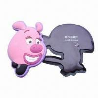 Quality Promotional soft PVC 3D fridge magnet, made of eco-friendly soft PVC with 3D effect process for sale