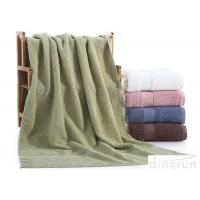 China Dobby Border Terry 100% Cotton Bath Towels Set For Bathroom 400gsm on sale