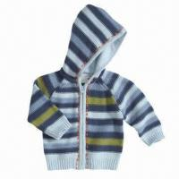 Quality Long-sleeved Children's Cardigan Sweater, Perfect for Winter, OEM Orders are Welcome for sale