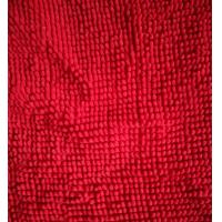 Quality Microfiber 1200gsm Red Big Chenille 150cm Width Used Like Mats Gloves for sale