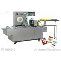Quality GGB-200A Cellophane Packaging Machine , Henan GELGOOG Carton Box Wrapping Machine for sale