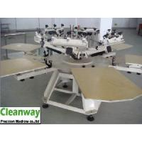 Quality Rotary 6 Color Station Textile Screen Printing Machine with Micro Adjustment (CY-66B) for sale