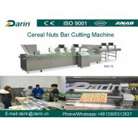 Quality Cereal Bar Making Machine / Bar Shape Cereals Candy Cutting Machine for sale