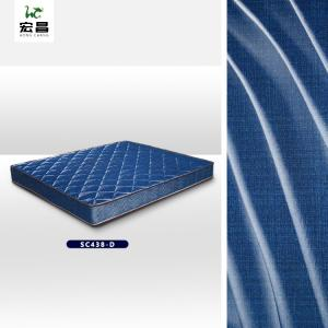 Quality Blue Simple Soft Width 83 inch Mattress Quilting Fabric Quick Drying for sale