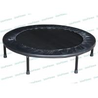 China Kids Indoor Rebounder Mini Trampoline With Handle Adjustable Oval Shape on sale