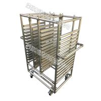 Quality Stainless Steel Pipe Rack Custom Structural Easy Assemble For Electronic Equipment for sale