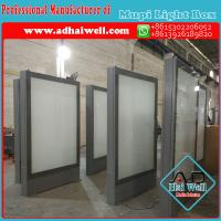 Quality Manufacturer Mupi Scrolling LED Light Box Display Made in China for sale