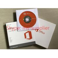 Quality Microsoft Office Standard 2016 Full Version DVD / CD Media Wndows Retail Box Online Activation for sale