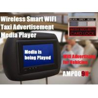 Buy cheap 7inch Tft Panel Headset Wifi Taxi/rental Car Advertising Media Player from wholesalers