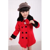 Buy cheap Red Trendy Coat for Girl from wholesalers