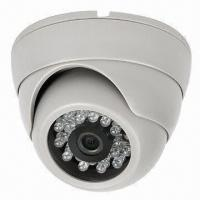 Quality CCTV IR Dome Camera with 2.5-inch Screen, Made of Plastic Material and 420 to 700TVL Resolution for sale