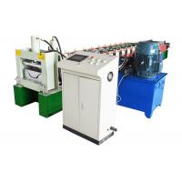 Quality Cold Steel Hydraulic Decoiler Machine , Gutter Roll Forming Machine Customized Color for sale