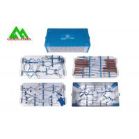 Quality Special Surgical Medical Instrument Kit For Lumbar Vertebrae Metal Material for sale