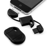 Quality Brand New Fun & Discreet Keyring USB Sync and Charge data cable for iPhone iPod iPad black for sale