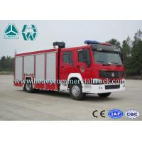 Quality 266Hp 4X2 Fire Fighting Vehicles / Fire Department Ladder Truck for sale