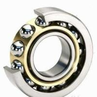 Quality low friction 7005C 7406 series miniature self aligning angular contact ball bearing for sale