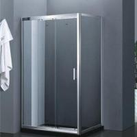 Quality 2012 new design sliding door/square shower enclosure in tempered glass for sale