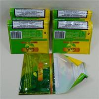 Quality Hand Rolling Zipper Resealable Plastic Bags For 50g Golden Virginia for sale