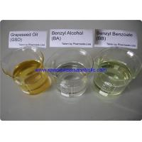 Quality Safe Pharmaceutical Raw Material Benzyl Alcohol BA Benzyl Benzoate BB Grapeseed Oil GSO for sale