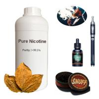 China Colorless Liquid Flavor Fragrance Odorless For Snuff 99.95% Pure Nicotine 1000mg on sale