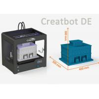 Buy cheap Creatbot DE Model high precision 3d printer with Large Print Area 400 * 300 * from wholesalers