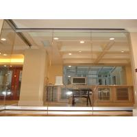 Quality Aluminum Temporary Wall Partitions Provide A Complete Sound Retardant Barrier for sale