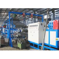 Quality Automobile PVC Plastic Carpet Machine / Double Colors Carpet Extrusion Line for sale
