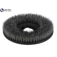 Quality Malish Rotating Scrub Brush Stainless Steel Wire Floor Carpet Scrubber Dryer Machine for sale