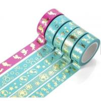 Quality Washi Paper Scotch Tape Label Car Painting And Decorative Assorted Decorative School for sale