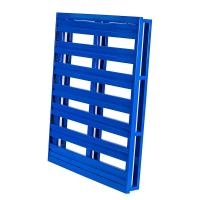 Buy cheap Warehouse Heavy Duty Stackable Metal Pallets Cold Rolled 4 Way Fork Enter from wholesalers