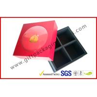 Buy Luxury Corrugated Paper Board Box, Spot UV / Hot-stamping Rigid Gift Boxes For Food Packaging at wholesale prices