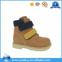 Quality Kids orthopedic safety shoes, wholesale kids shoes from chinese factory for sale
