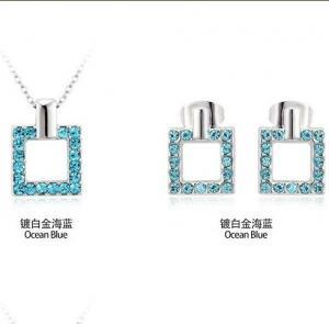 Quality 2014 Jewelry set made with Swarovski elements TJ0082 for sale