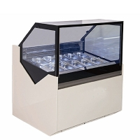 Quality Popsicle Refrigerator Ice Cream Display Freezer Commercial Display Freezer for sale