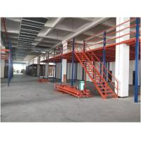 Buy Steel Industrial Storage Racks Heavy Duty Mezzanine For Goods Fixed Mobility at wholesale prices